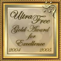 Ultra Free Awards - Gold Award of Excellence