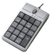 Keypad W/ Optical Mouse